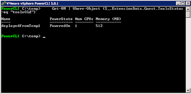 vmware tools is out of date on this machine