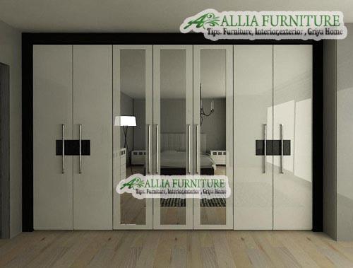 Model & tipe dari lemari pakaian minimalis - Allia Furniture