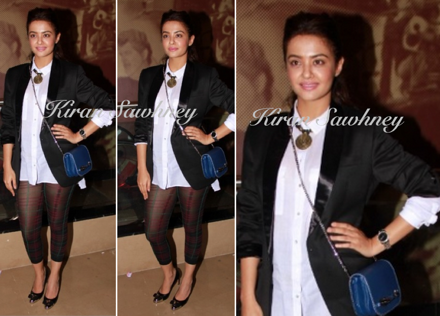 Surveen Chawla at Khamoshiyan Screening