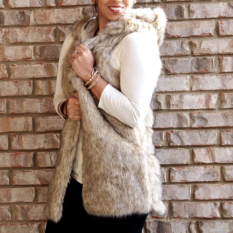 Find great deals on eBay for hooded faux fur vest. Shop with confidence.
