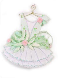 White Fairy Paper Dress