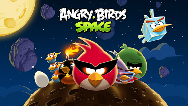 Angry Birds Space Loading screen