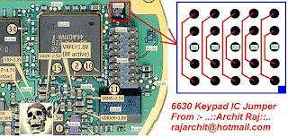 nokia 6630 keypad