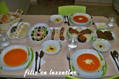 LEZZETLİ SOFRALAR