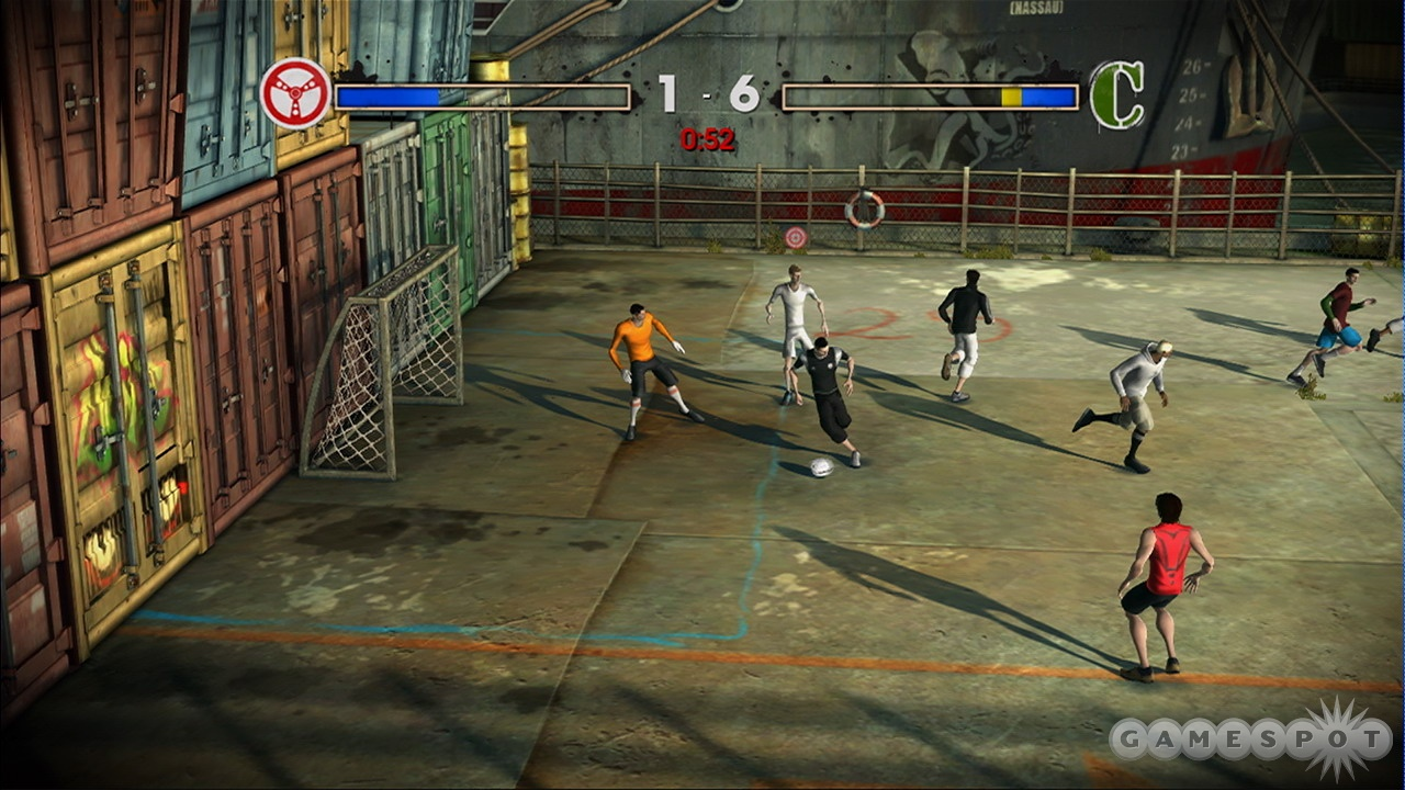FIFA Street 2 - Play Game Online