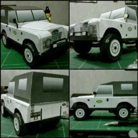 LAND ROVER S3 1979 Papercraft