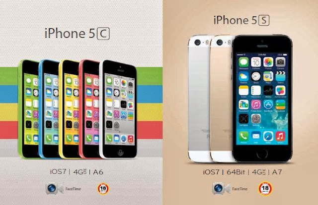 عرض جرير على جوال الايفون Apple iPhone 5s - iPhone 5c
