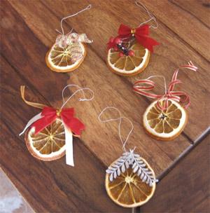 Addobbi natalizi fatti a mano - Arance secche decorazione ...