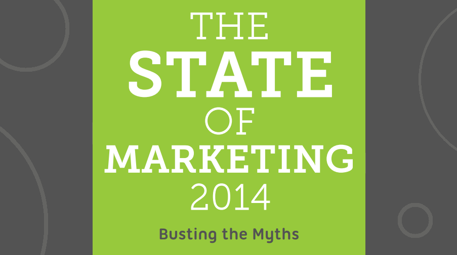 The State of Marketing and PR in 2014: Busting The Myths - infographic