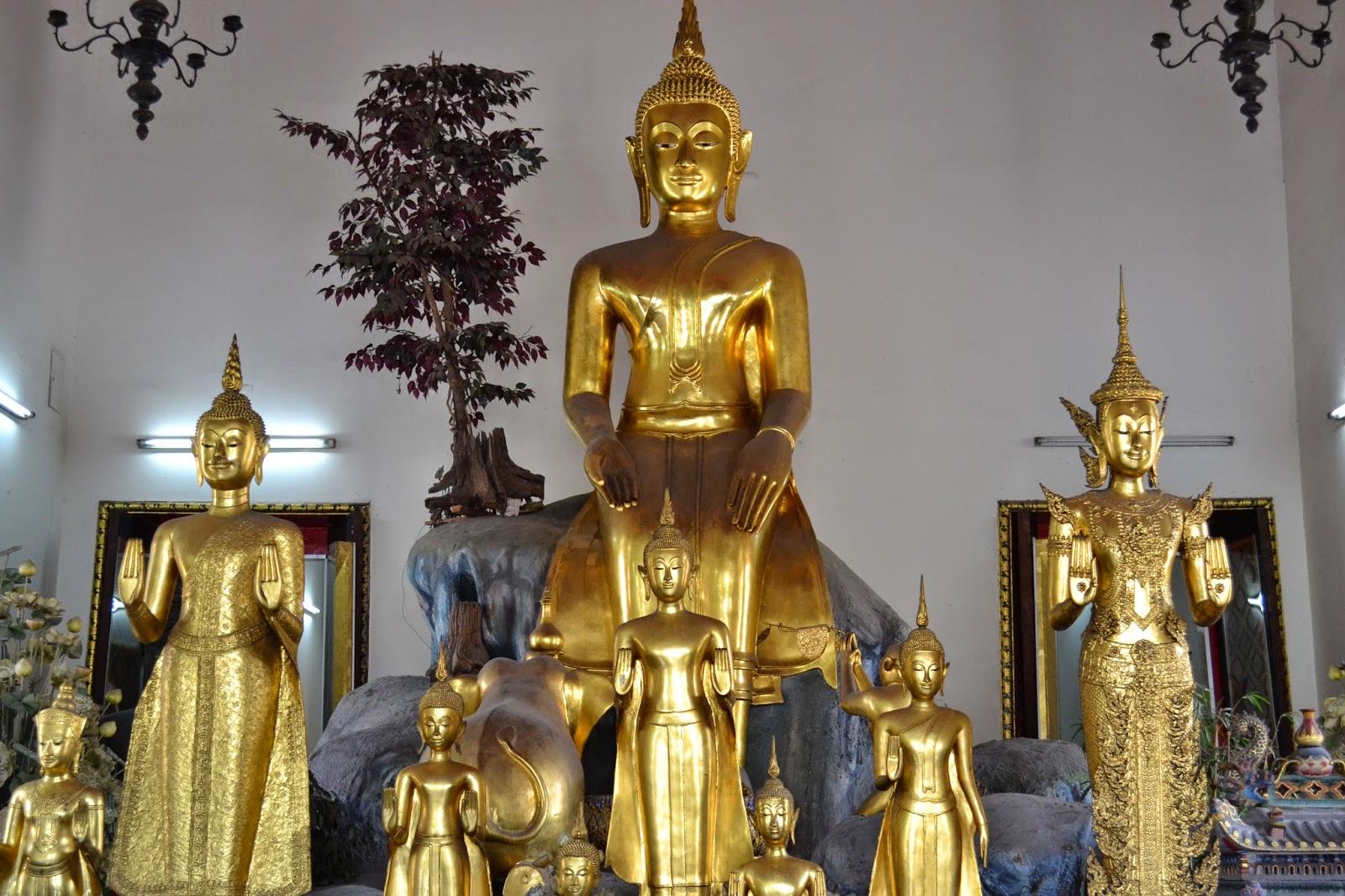 bangkok, voyage, parc, nénuphar, quartier indien