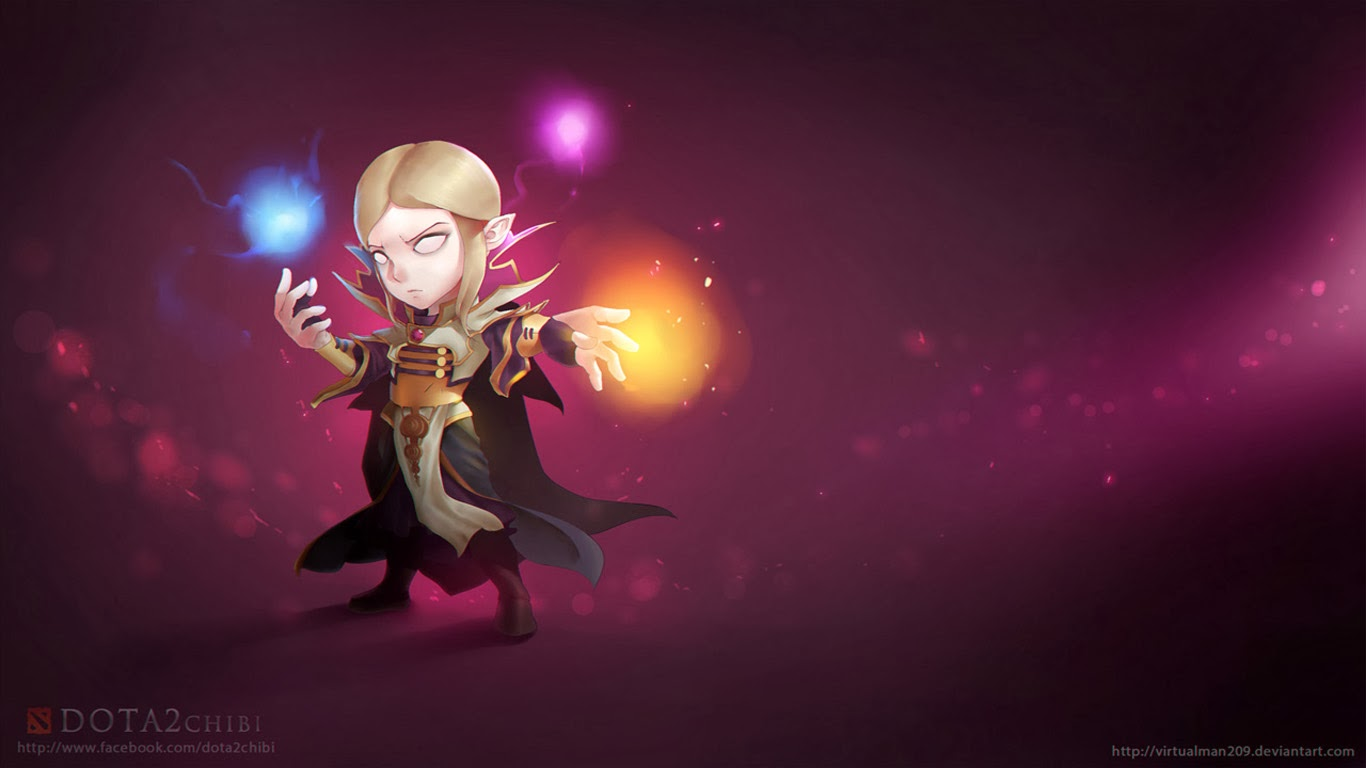 Invoker Chibi Dota 2 13 Wallpaper HD