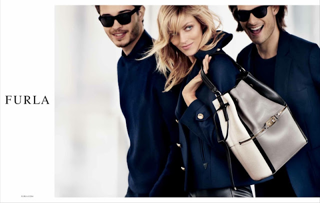 Furla Fall/Winter 2015 Campaign featuring Anja Rubik