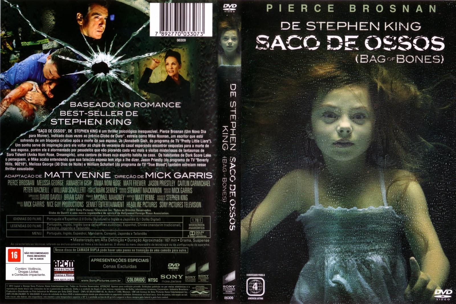 Filme Saco De Ossos DVD Capa