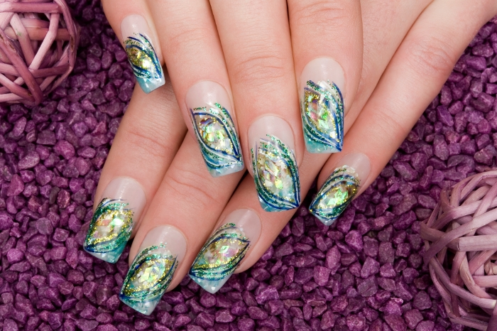 The Charming Acrylic nail ideas Digital Photography