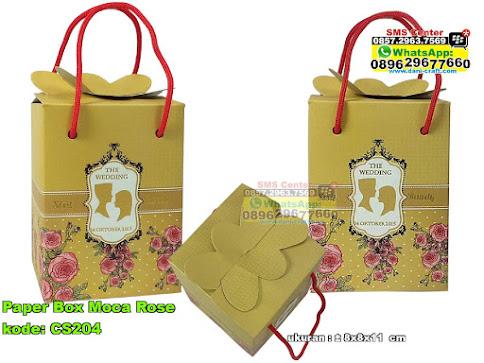 Paper Box Moca Rose