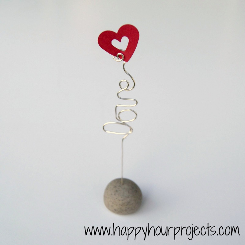Personalized Wire Photo Holders - Happy Hour Projects