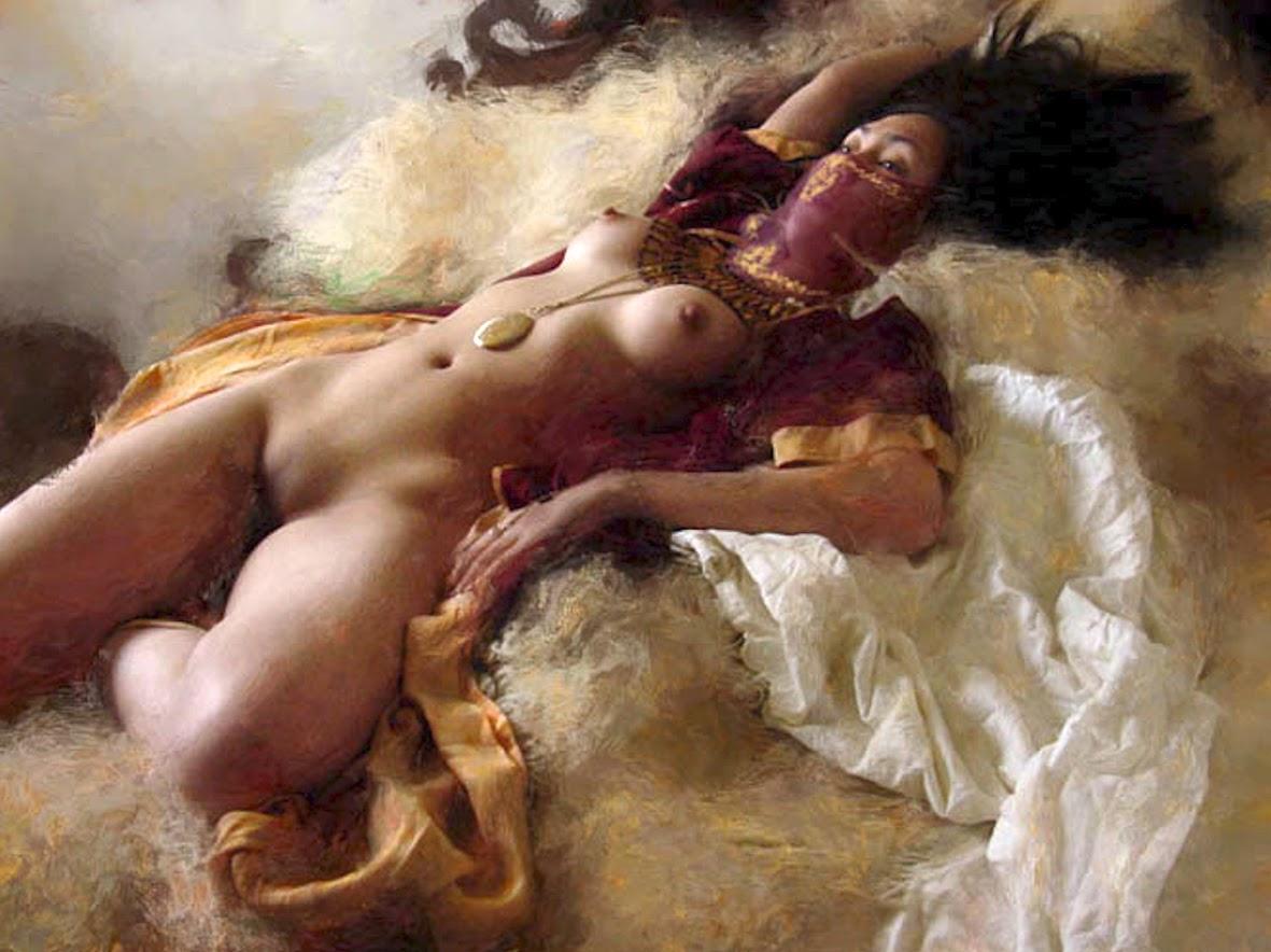 Desnudos con serpientes