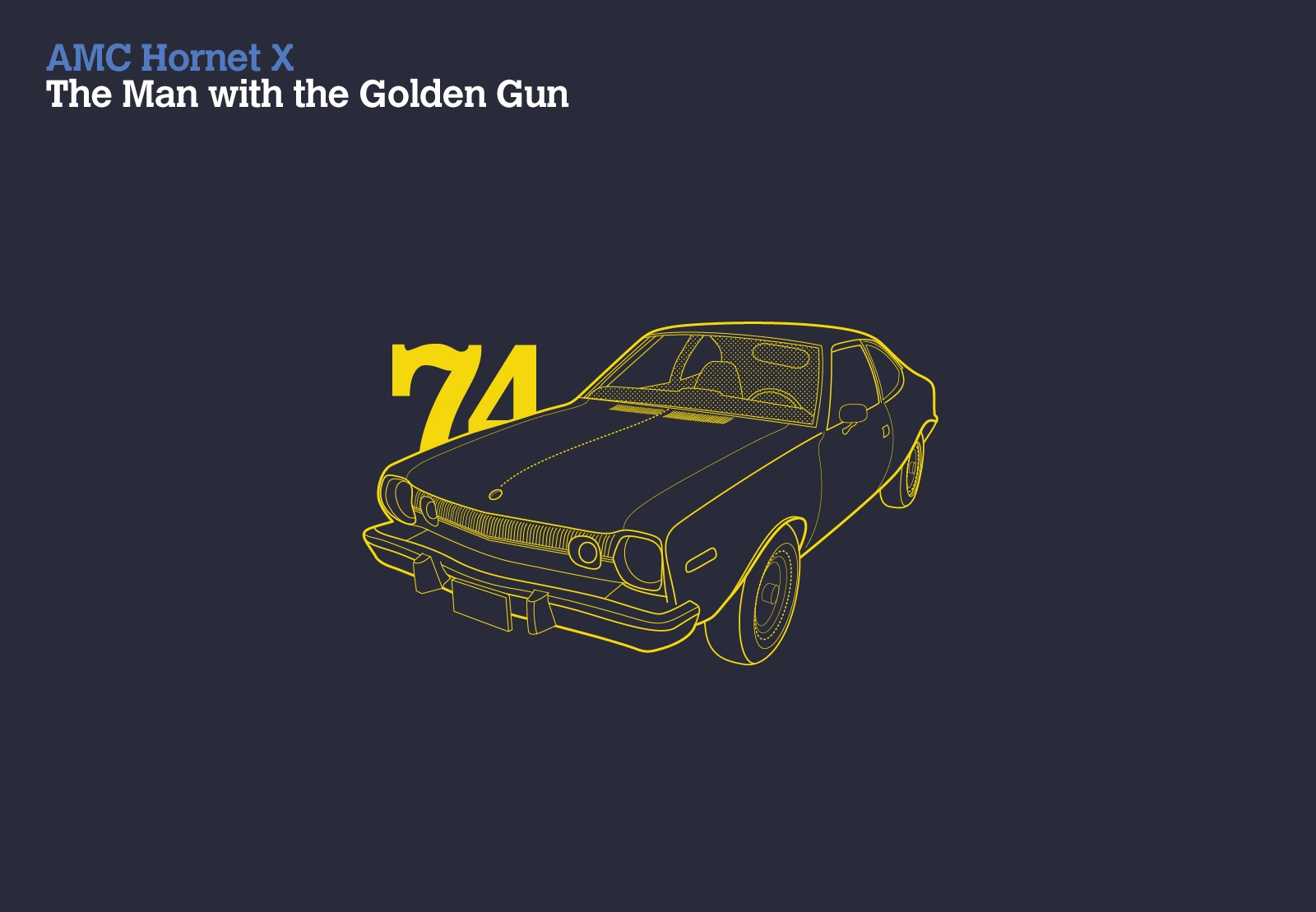 AMC Hornet X The Man With The Golden Gun