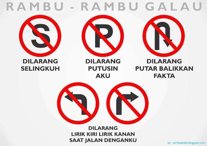 Rambu-rambu Galau