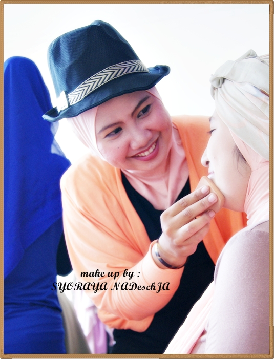 Tips make up Wanita Berjilbab agartetap terlihat cantik