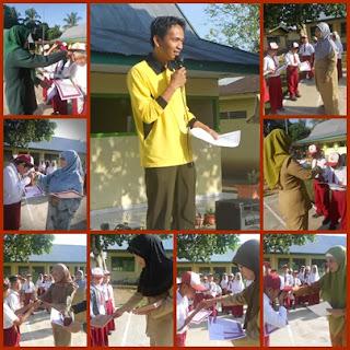 Kegiatan Pengumuman Juara Kelas Semester II TA. 2012/2013