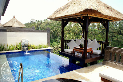 The Viceroy Bali, Ubud Review - Deluxe Terrace Villa Suite - Bale by the Pool