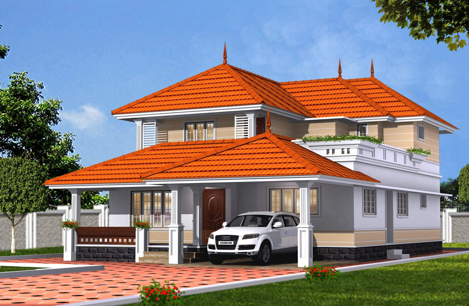 Friendsthiruvalla Posh House For Sale 2950 Sq Ft At