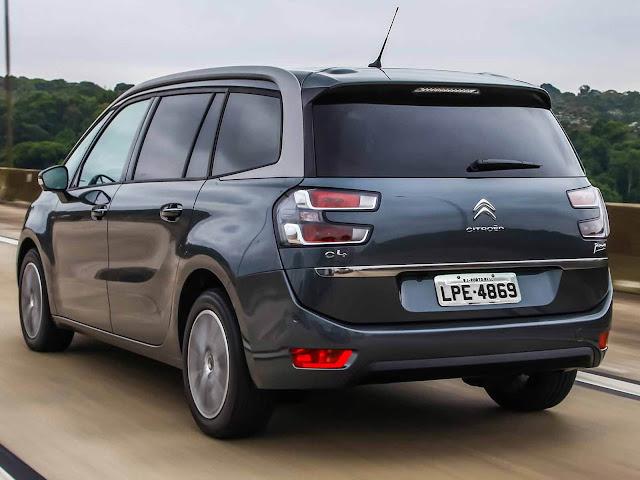Novo Citroën Grand C4 Picasso 2016