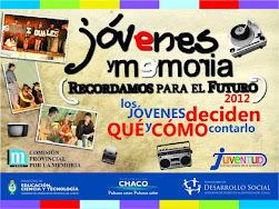 Jóvenes y Memoria 2012
