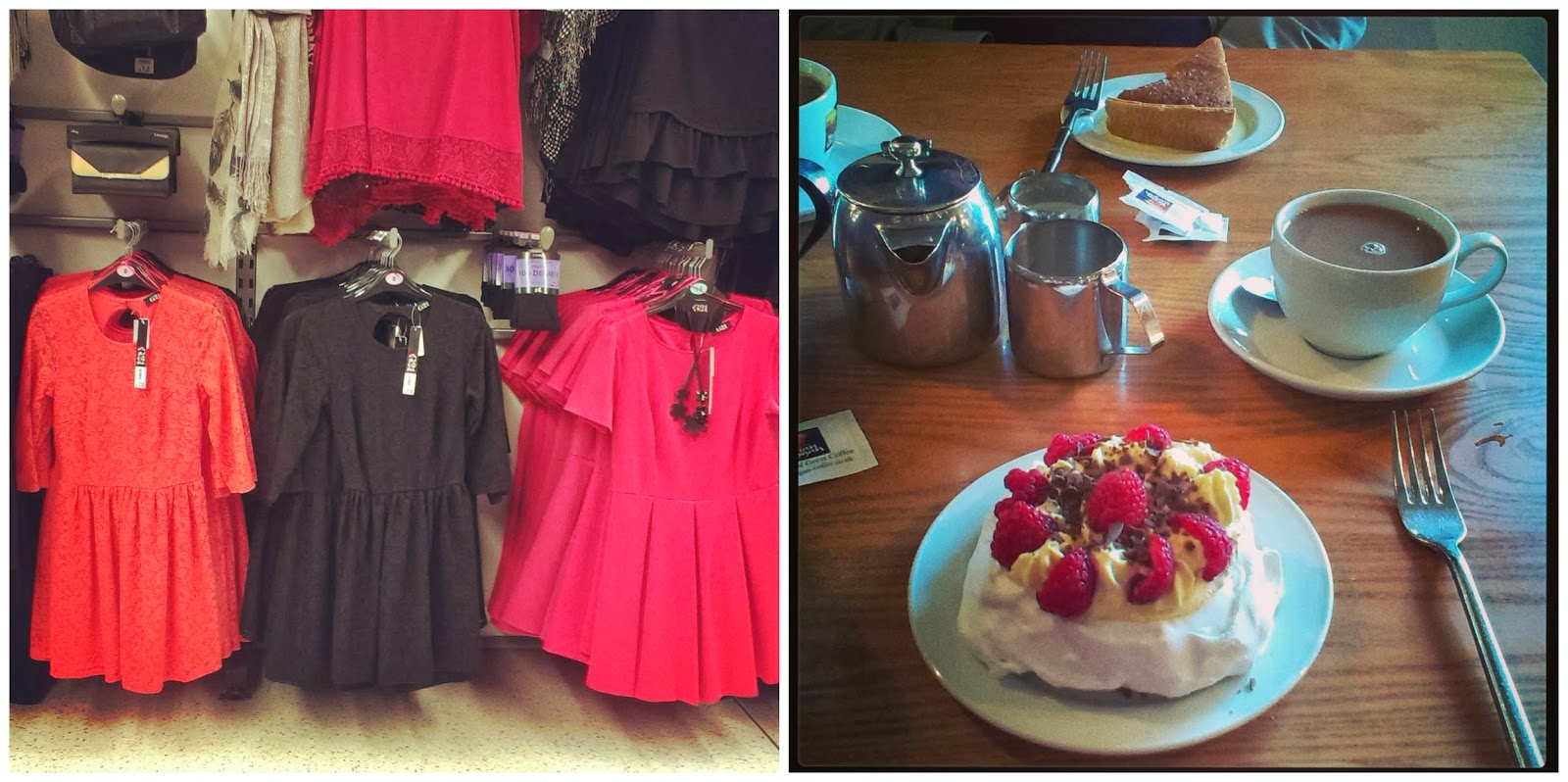 Asda dresses - Tea and Cake at Farringtons Farm Shop
