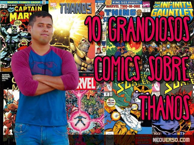 10 comics thanos