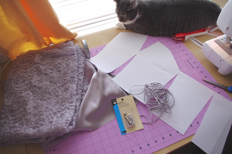 silver rose sewing tutorial my satinnlace corset dress