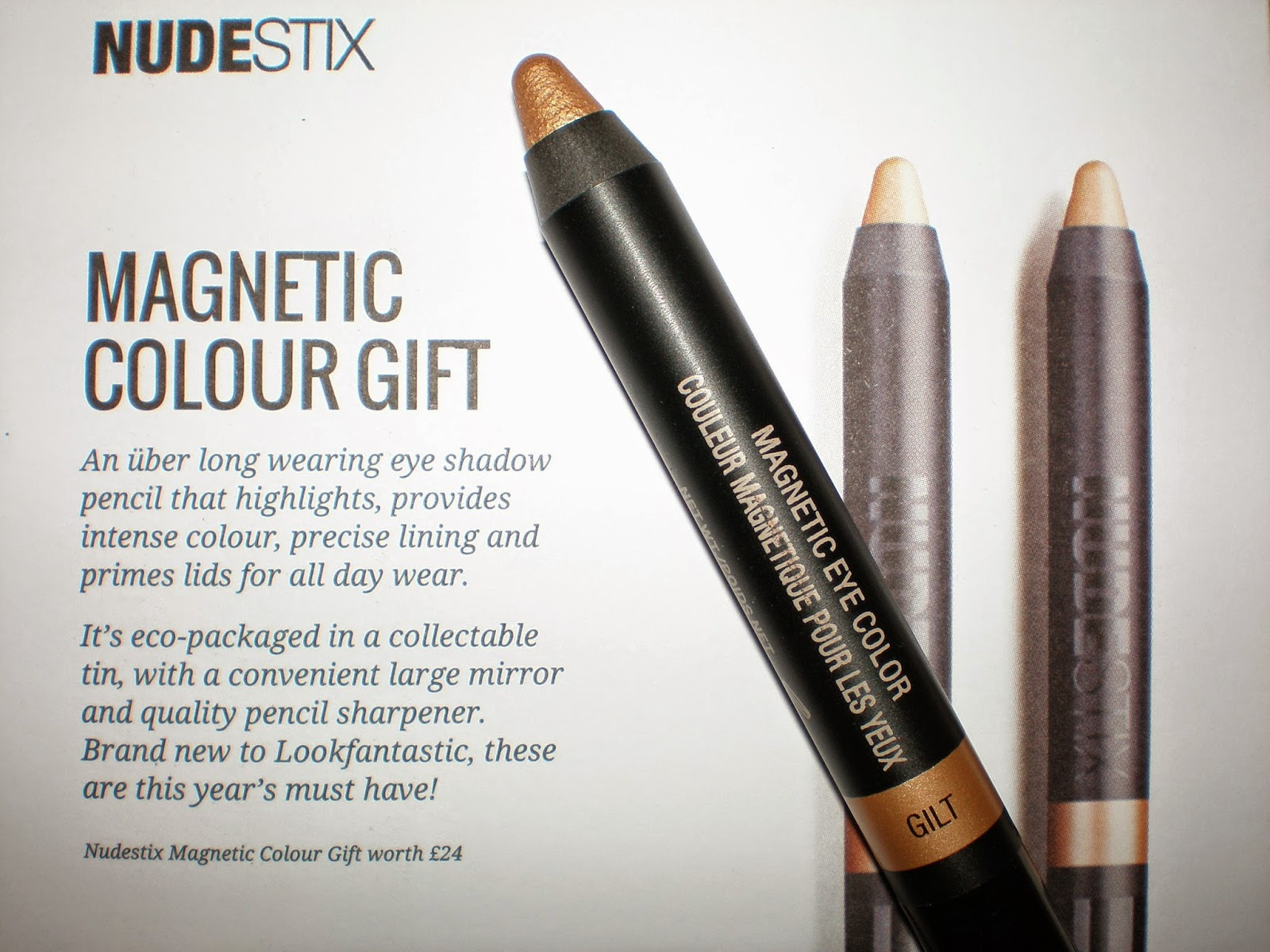 NudeStix Magnetic Colour Eyeshadow Penci in Gilt