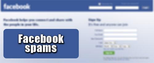 facebook-spams