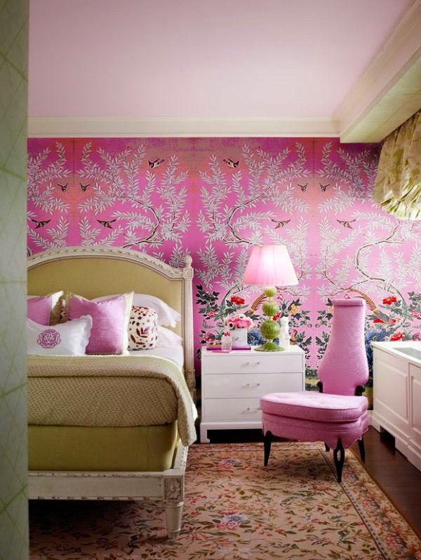 Interiors || Chinoiserie Panels - Mimosa Lane