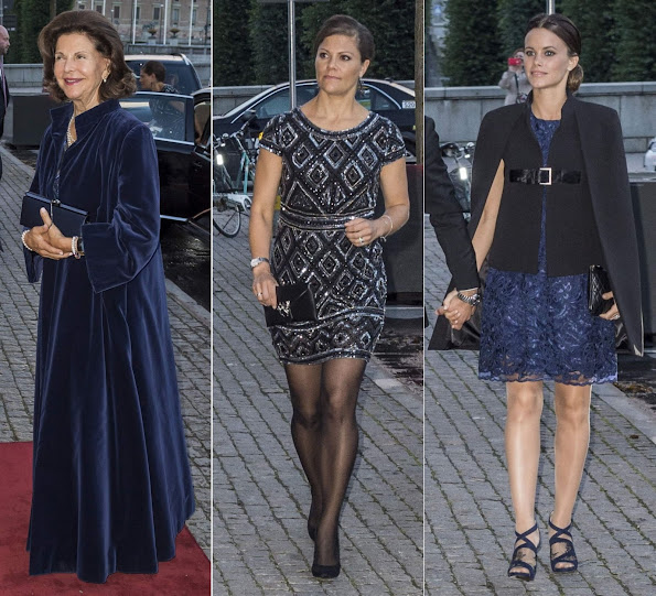 King Carl Gustaf and Queen Silvia, Crown Princess Victoria and Prince Daniel, Prince Carl Philip and Princess Sofia