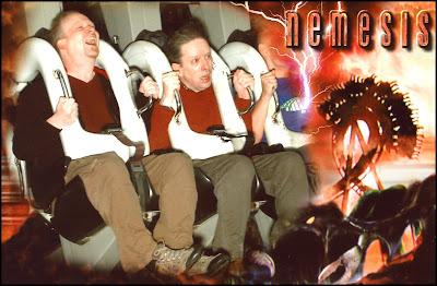 Gav and me on Nemesis