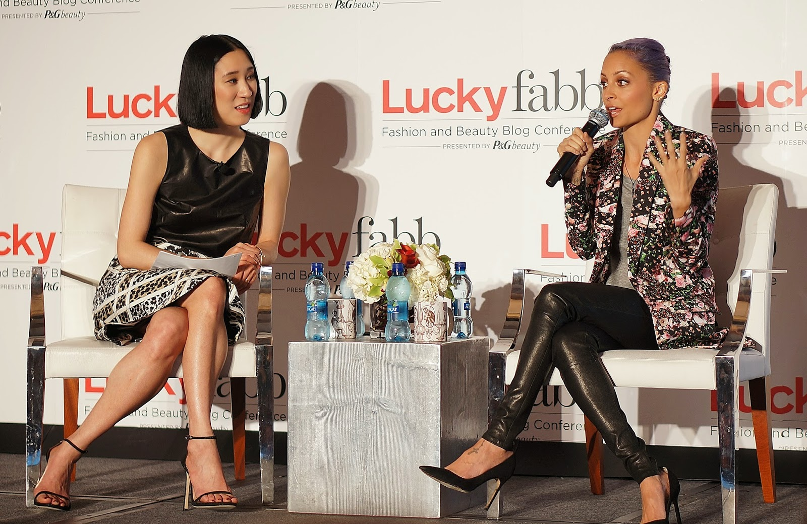 Lucky Fabb, Lucky Fabb 2014, Lucky Fabb West, Lucky Fabb L.A., Lucky Fabb Fashion and Beauty Blog Conference, Lucky Magazine Event, Fashion Blogger, Nicole Richie