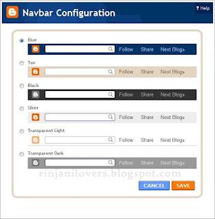 tutorial blog, blogger tutoral, blogspot, blog, Navbar di Blogspot, Cara Menghilangkan Navbar di Blogspot