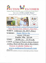 """Autism Welcomed (Feb. 26) """"Show Me Your Sonic Smile!"""""""