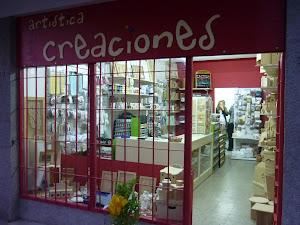Inauguracion de ARTISTICA CREACIONES!!!!!