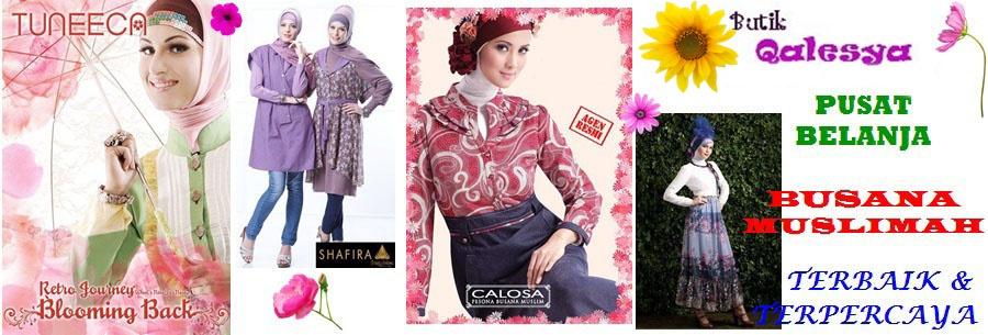 Butik Qalesya|d'Original Boutique|PUSAT BUSANA MUSLIMAH TERBAIK|ANEKA DRESS|PASHMINA|TUNIK|GAMIS