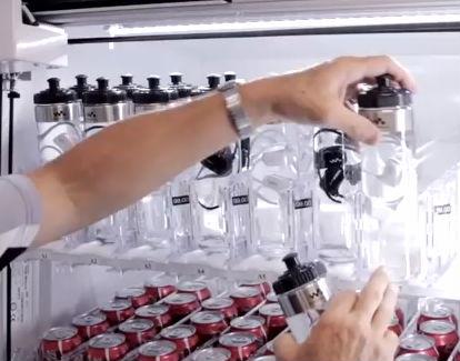 ボトル入りNWD-W273の自動販売機