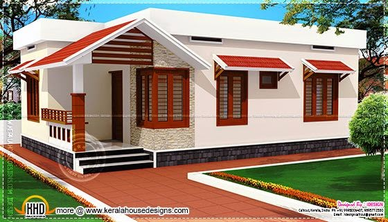 Low Cost Kerala Home Design In 730 Square Feet Kerala Home Design And Floor Plans