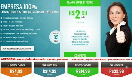 O MAIOR HOST PARA WEB + RADIO