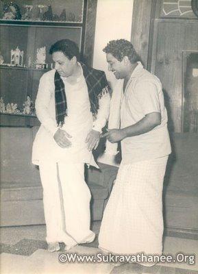 MGR & Sivaji Ganesan