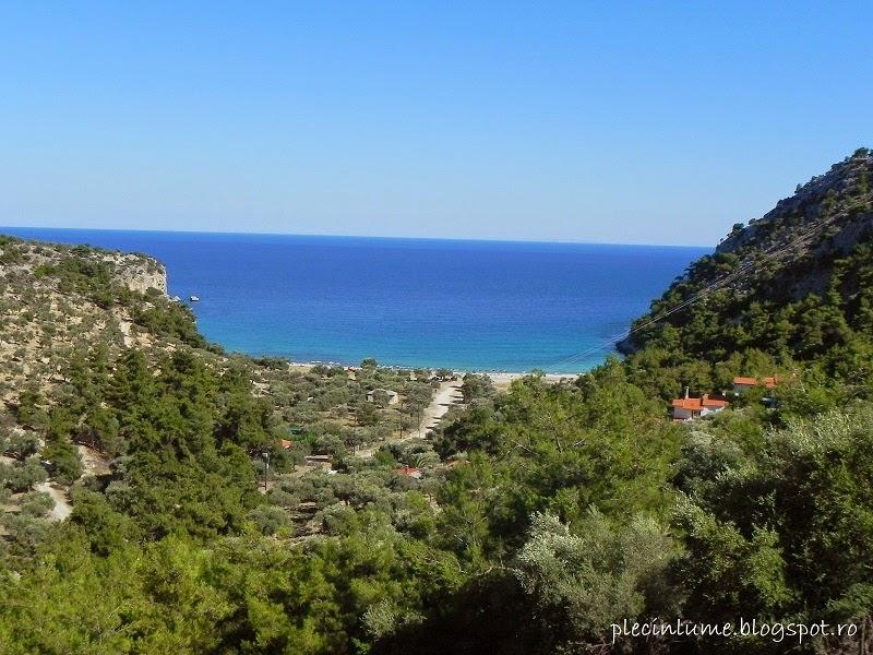 Paradise beach (Plaja Paradis), Thassos