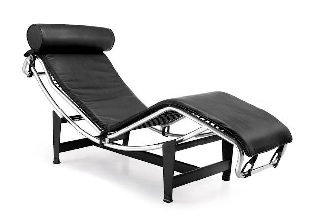 Long Chair,  Šarls Eduārs Lekorbizjē (fr. Le Corbusier, 1887-1965)