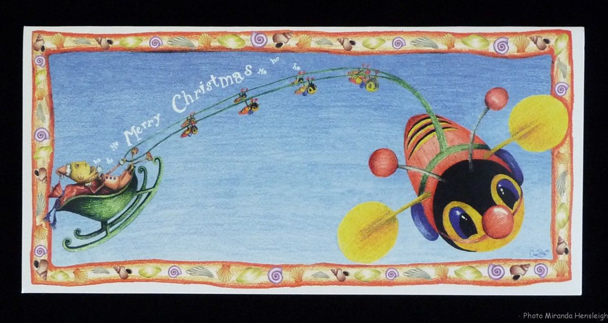Gorgeous With Attitude Kiwi Christmas Cards Past And