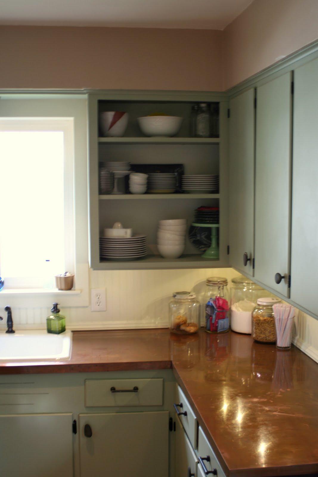 DIY Copper Countertops Kitchen Ideas